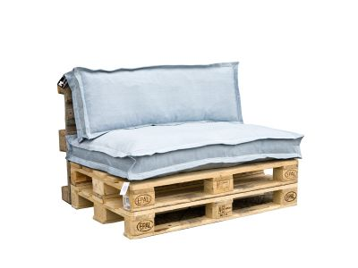 In The Mood Collection Palletkussenset San Remo Blauw - 120cm x 80cm