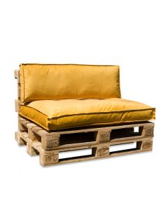In The Mood Palletkussenset Royal Velvet Honing Geel
